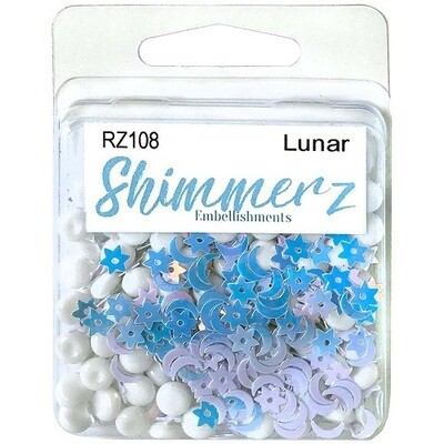 Buttons Galore & More - Shimmerz - Lunar