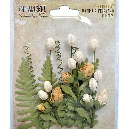 49 & Market - Maura's Vineyard Flowers - Chardonnay