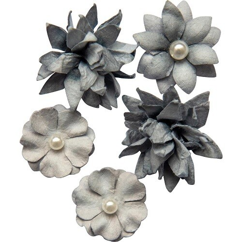 49 and Market - Mini Flower Packs (5 pieces) Storm