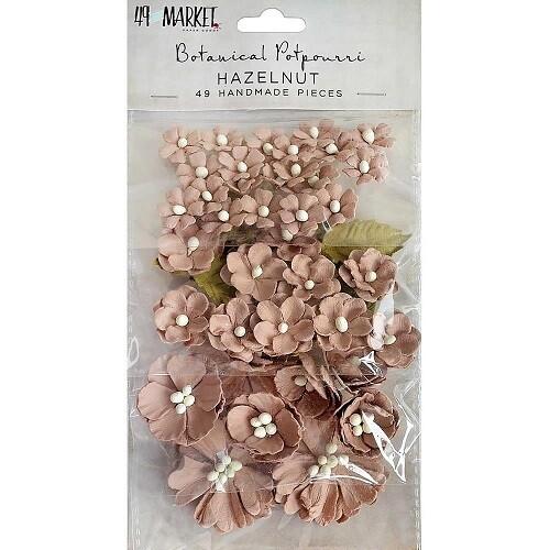 49 & Market Vintage Shades Potpourri - Hazelnut - 49 pieces