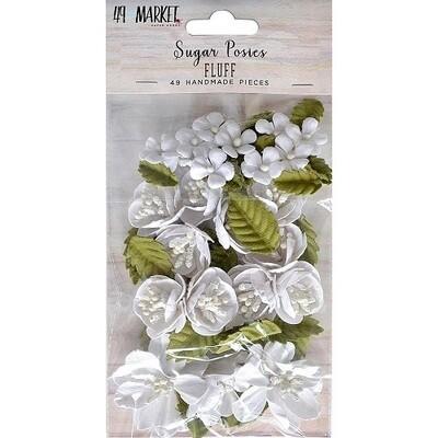 49 & Market Sugar Posies  Flowers - Fluff