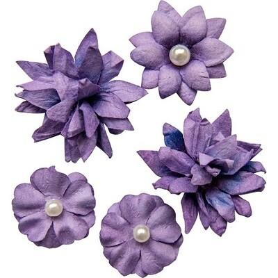 49 & Market - Violet - Mini Flower Packs (5 pieces)
