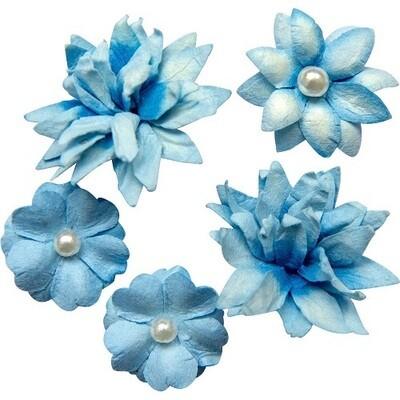 49 & Market - Cobalt - Mini Flower Packs (5 pieces)
