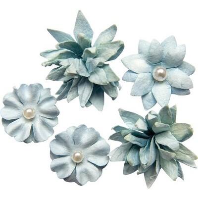 49 & Market - Sky - Mini Flower Packs (5 pieces)
