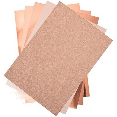 Sizzix - Surfacez Opulent Cardstock Pack - 50 sheets 8.5