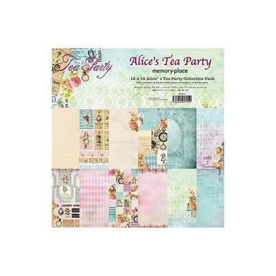 Memory Place- Alice's Tea Party - 12 x 12 Collection Pack