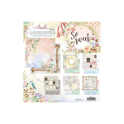 """Memory Place - So Sweet Collection - 12"""" x 12"""" Paper Pack"""