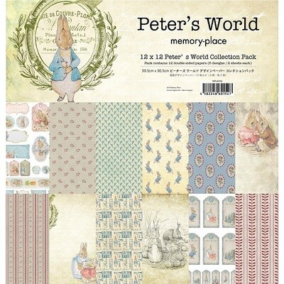 Memory Place- Peter's World- 12 x 12 Collection Pack