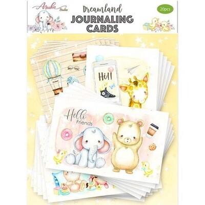 Asuka Studio - Dreamland Journalling Cards - 20pcs