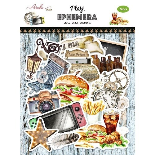 Asuka Studio - Play Ephemera  - 24pcs