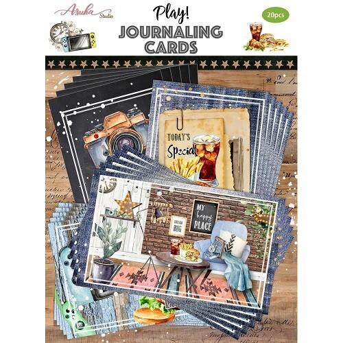 Asuka Studio - Play Journalling Cards - 20pcs
