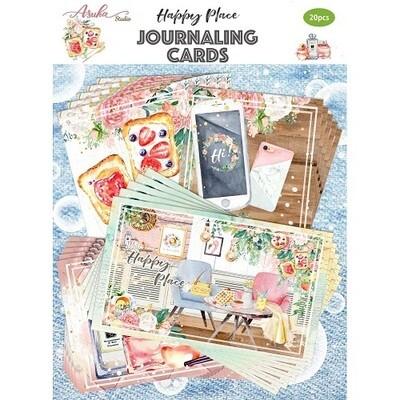 Asuka Studio - Happy Place Journaling cards   - 20 pcs
