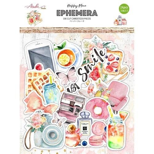Asuka Studio - Happy Place Journalling Cards - 20pcs