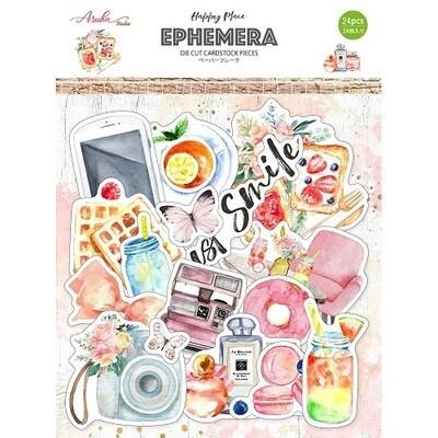 Asuka Studio - Happy Place Ephemera - 24pcs