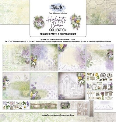 3 Quarter Designs - 12 x 12 Collections - Herbalist Charm
