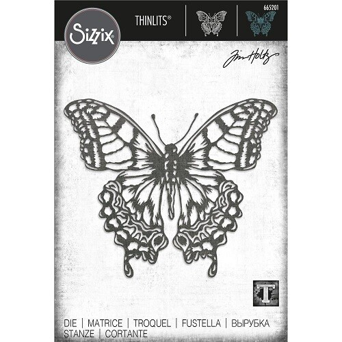 Tim Holtz - Sizzix Thinlets Die - Large Perspective Butterfly