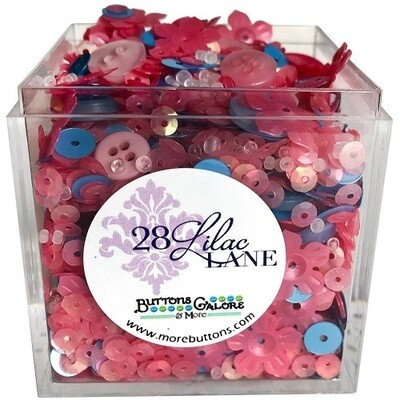 Buttons Galore & More - Lilac Lane - Cherries In Bloom - Shaker Mixes  65grams
