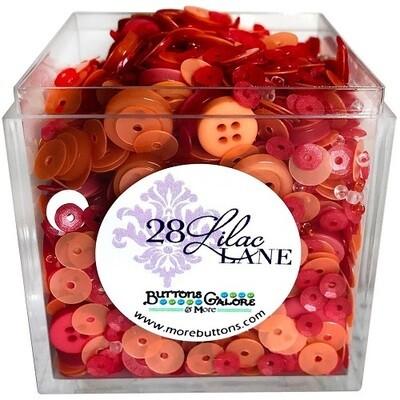 Buttons Galore & More - Lilac Lane - Citrus Punch - Shaker Mixes 65grams