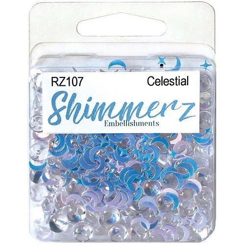 Buttons Galore & More - Shimmerz - Celestial