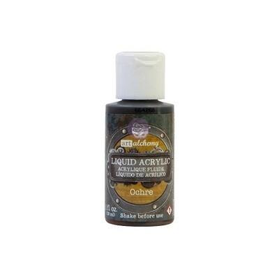 Prima Marketing - Finnabair - Art Alchemy - Liquid Acrylic - Ochre