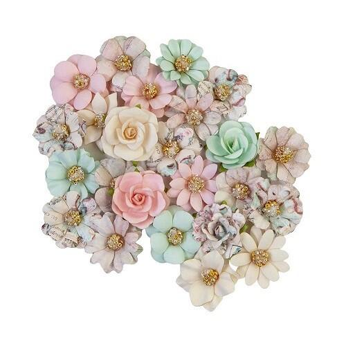 Prima Flowers - Sugar Cookie Christmas - 648541 - 24 pcs