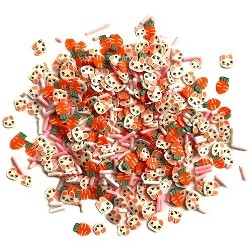 Buttons Galore Sprinkletz - Bunny Trail - 12 grams