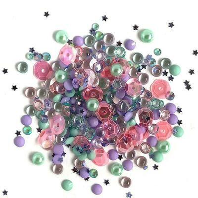 Buttons Galore - Sparkletz - Mermaid - 10gm