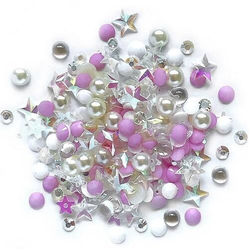 Buttons Galore - Sparkletz - Barefoot Beach - 10gm