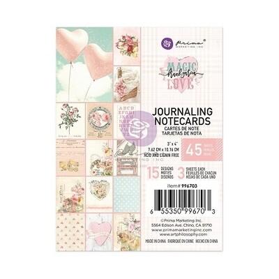 "Prima Marketing - Magic Love - 3"" x 4"" Journalling Cards"