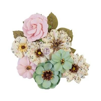 Prima Marketing - My Sweet Flowers - Sewn Tighter - 12 pcs