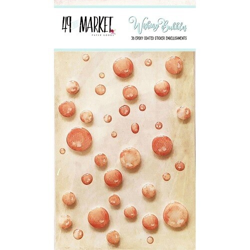 49 & Market - Wishing Bubbles - Crush - 38 pcs - WB89210