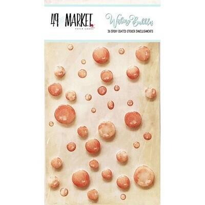 49 & Market - Wishing Bubbles - Crush - 38 pcs