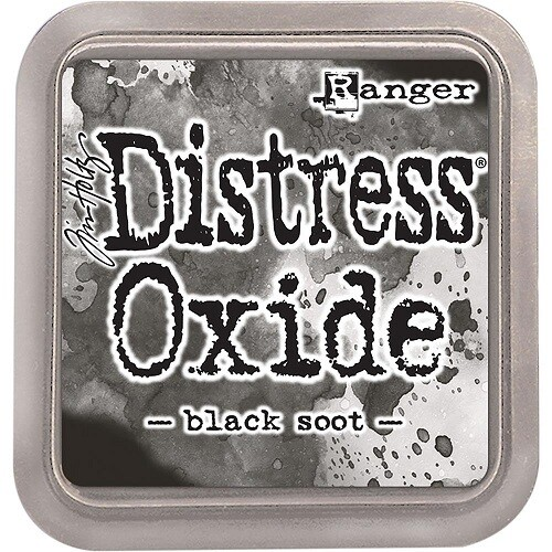 Tim Holtz Distress Oxide - Black Soot Oxide