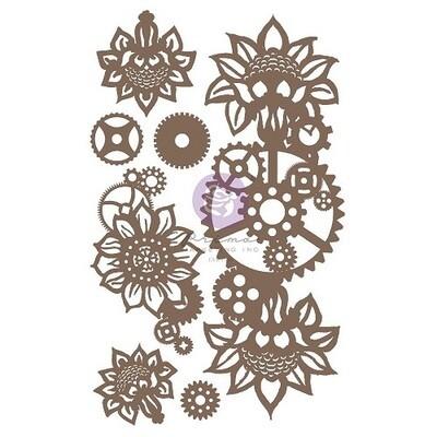 Prima Marketing -  Finnabair Chipboard - Machine Floral Décor