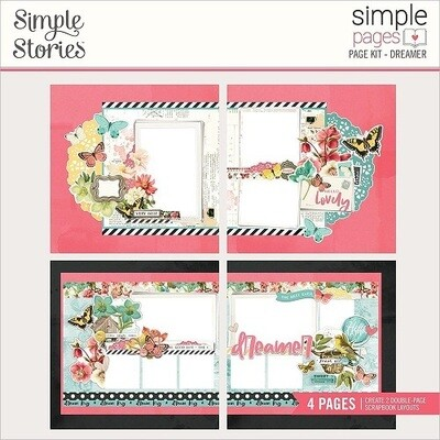 Simple Stories Page Kits - Dreamer - 4 Layouts