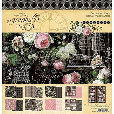 Graphic 45 - Elegance - Collection Pack - 12 x 12