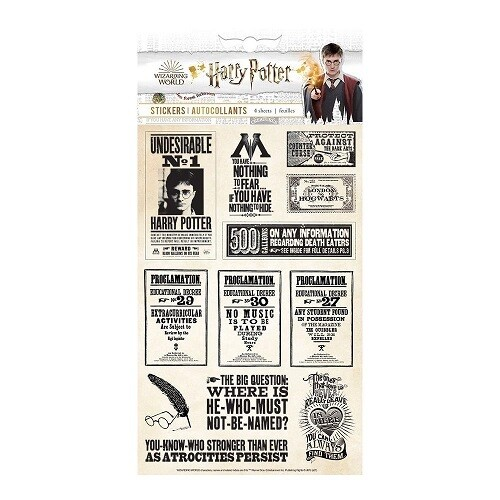 Paper House - Harry Potter Proclamation Stickers