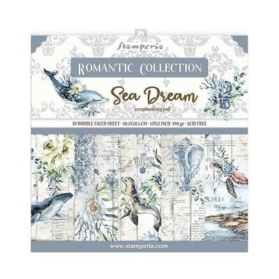 Stamperia - Romantic Sea Dream - 12 x 12 Collection - SBBL87