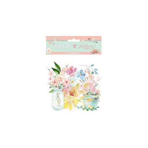 Stamperia - Circle of Love - Flowers Collection -  Die Cuts