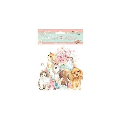 Stamperia - Circle of Love Cats & Dogs -  Die Cuts