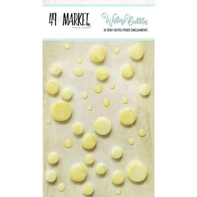 49 & Market - Wishing Bubbles - Fizz - 38 pcs