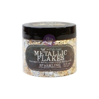 Prima Marketing - Finnabair - Shiny Metal Flakes - Sparkling - 5 oz / 30grms