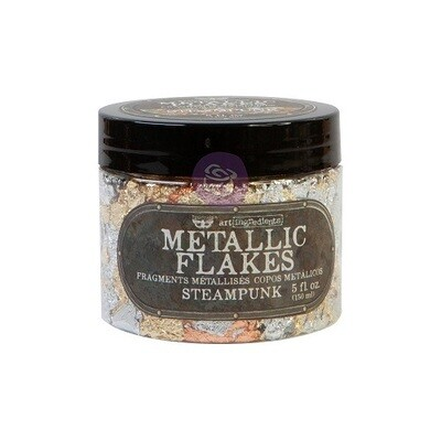 Finnabair - Shiny Metal Flakes - Steampunk - 5 oz / 30grms