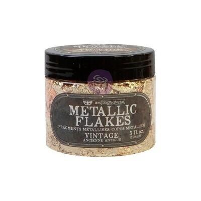 Prima Marketing - Finnabair - Shiny Metal Flakes - Vintage - 5 oz / 30grms