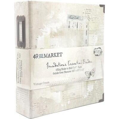 49 & Market - Essential Binder - Vintage Cream - 6