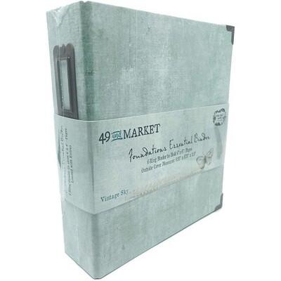 "49 & Market - Essential Binder - Vintage Sky - 6"" x 8"""