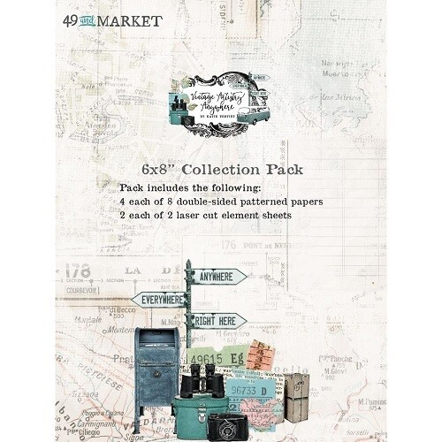 """49 & Market - Vintage Artistry - Essentials - Anywhere Collection - 6"""" x 8"""" Paper Pad"""