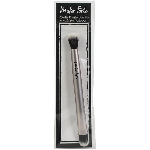 Maker Forte - Rose Gold Powder Brush - Dual Ends