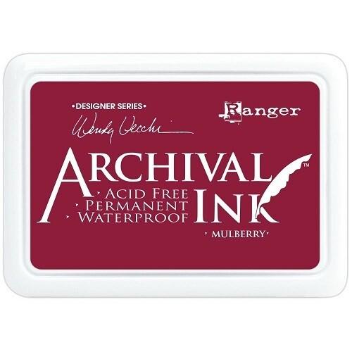 Wendy Vecchi - Ranger Inks - Mulberry - Designer Inks