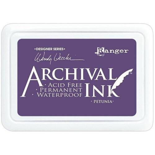 Wendy Vecchi - Ranger Ink - Petunia - Designer Inks